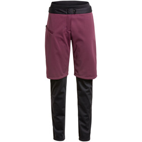VAUDE All Year Moab Pantaloni 3in1 senza SC Donna, viola